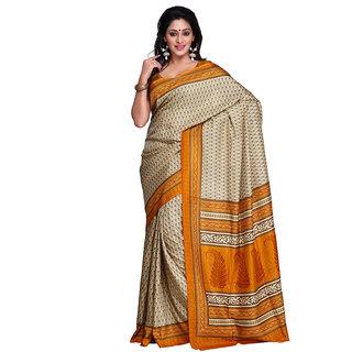 Yuvanika Multicolor Printed Bhagalpuri Silk Saree with Blouse-yuvef00047