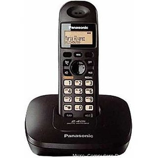Panasonic KX-TG3615 Cordless Phone (Black)