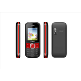 VOX New V3100 Triple Sim Mobile Phone (Red & Black)
