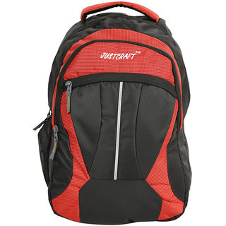 Justcraft Red Water Resistant Backpacks