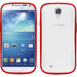 UNIQ COUVIRSUIT GALAXY S4 BACK TO BASIC - SEE RED TO BASIC (RED)