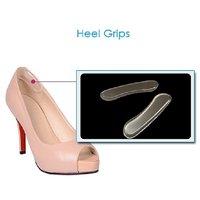 Gixmo Silicon Transparent Invisible Heel Pad Shoe Anti-slip Pad