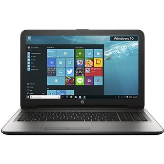 HP 15-AY523TU Notebook (5th Gen Intel Core i3- 4GB RAM- 500GB HDD- 39.62cm(15.6)- Windows 10) (Silver)