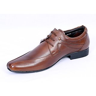 Valentino Modernistic Maroon Men's Formal Shoes
