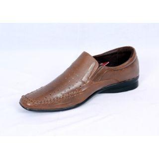 Valentino Voguish Khaki Men's Formal Shoes