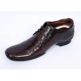 Valentino Slick Brown Men's Formal Shoes
