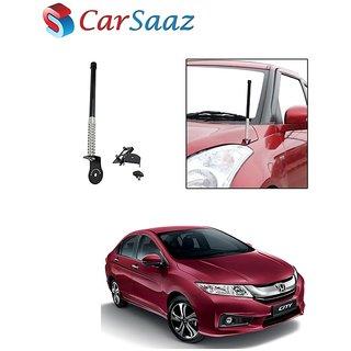 Carsaaz bonnet VIP show antenna Black for Honda City
