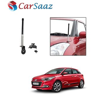 Carsaaz bonnet VIP show antenna Black for Hyundai Elite I20