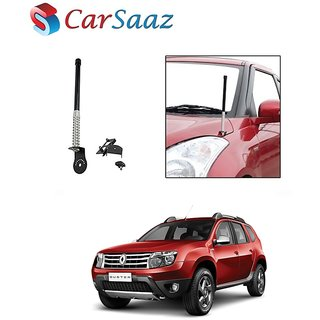 Carsaaz bonnet VIP show antenna Black for Renault   Duster
