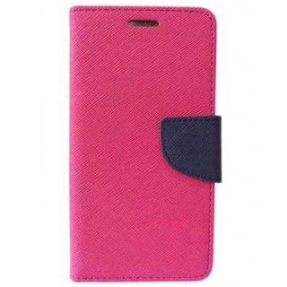Apple IPhone 4S Mercury Flip Cover By Sami - Pink