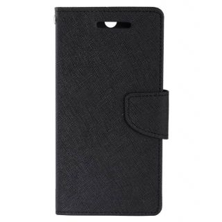Apple IPhone 7 Mercury Flip Cover By Sami - Black