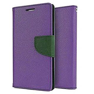 Samsung Galaxy On7 Mercury Flip Cover By Sami - Purple