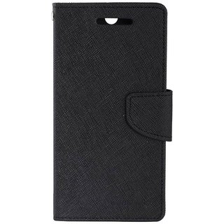 Motorola Moto E2 Mercury Flip Cover By Sami - Black