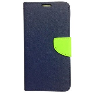 Lenovo A7000 Mercury Flip Cover By Sami - Blue
