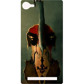 Amagav Printed Back Case Cover For Lava X17