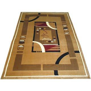 Imran Carpets Prested by Synthetic Multicolor Home made Designer Carpet Alikanta-5x7-13