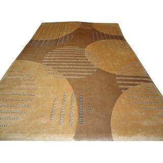 Imran Carpets Prested by Synthetic Multicolor Home made Designer Carpet Alikanta-4x6-23