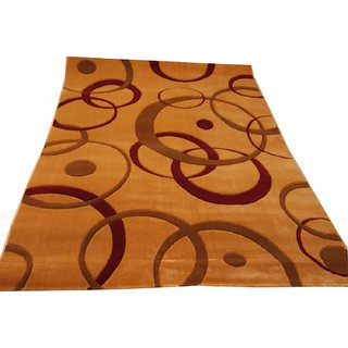 Imran Carpets Prested by Acrylic Multicolor Home made Designer Carpet Alikanta-5x7-new-1