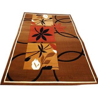 Imran Carpets Prested by Synthetic Multicolor Home made Designer Carpet Alikanta-6x9-14