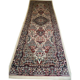 Imran Carpets Prested by Synthetic Multicolor Home made Designer Carpet Alikanta-P2x6-4