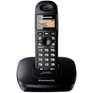 Panasonic 2.4 GHz KX-TG3611SXS Digital Cordless Phone