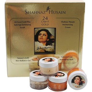shahnaz husain facicl gold kit