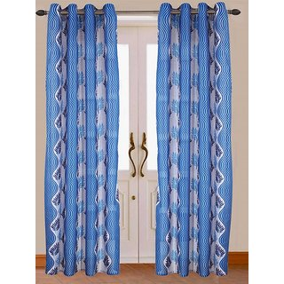 Galaxy D1 Set of 2 curtains Size (7/4)
