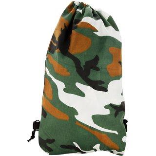 Roadeez 2.5 Litres Multi-Colour Drawstring Bag (BG-PRINT-MILITORY)