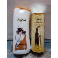 Nuzen Gold Herbal Hair Oil 100ml Nuzen Herbal Anti Hiar Fall Shampoo 200ml (pack Of 2)