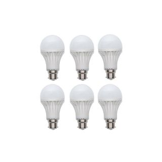 Zivaha Riviera 5W Led Bulbs - Cool Day Light 6 pec