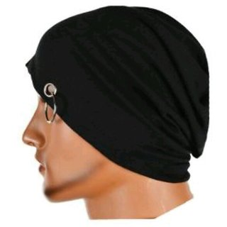 Bm fashion men and women beanie cap with ring
