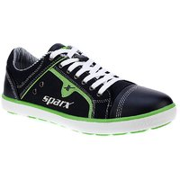 Sparx Men Black And Green Lace-up Casual Shoes