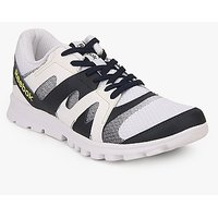 Reebok Running Electro Men's White Lace-up Sport Shoes
