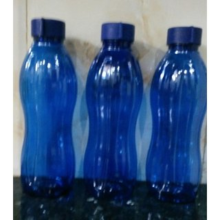 Set of  3 Water Bottle /Fridge bottle 1000 ml each assorted colors