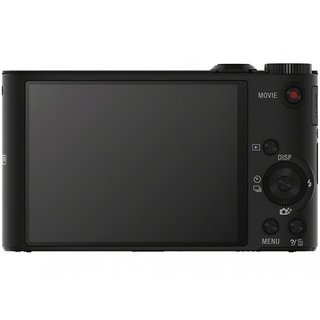 Sony CyberShot DSC-WX300 Point & Shoot (Black)