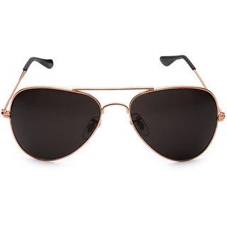 black aviator sunglasses 9k8u  Rico Sordi Black UV Protection Men Aviator Sunglass