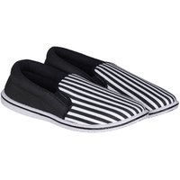 Emosis Men's Black Slip On Loafers Shoes