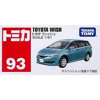 Tomy Tomica #93 TOYOTA WISH Diecast Toy Car
