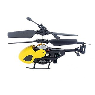 Super Mini 3.5CH RC Helicopter With Gyro and LED ,Color Orange