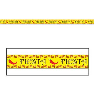 Fiesta Party Tape Party Accessory (1 count) (1 Pkg)