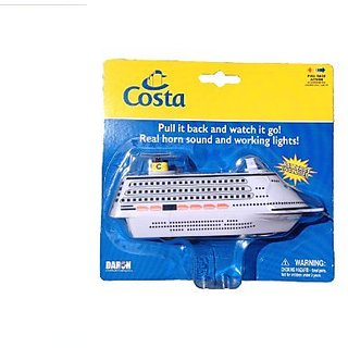 Daron Toys Costa Cruises Pullback Cruise Ship Toy