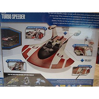 Star Wars Jedi Turbo Speeder and Jedi Starfighter Combo Pack