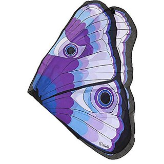 Butterfly Wings w Glitter Eyes, Purple