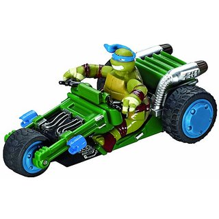 Carrera Of America Teenage Mutant Ninja Turtles Leonardos Trike Slot Car, 1:43 Scale