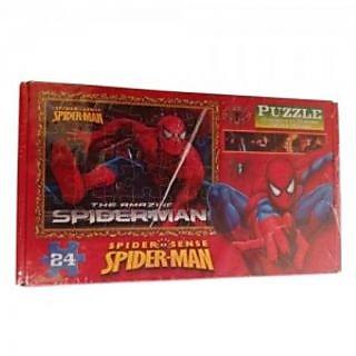 Spiderman Theme Puzzle Set