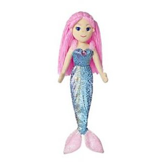 Aurora World Sea Sparkles Mermaid Nixie Doll, 17