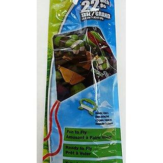 TMNT Ninja Turtles 22 Inch Poly Diamond Kite