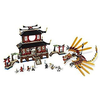 Includes Sensei Wu, Kai, Zane and Nya minifigures and Lord Garmadon, Samukai and Kruncha figures-Weapons include Scythe