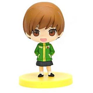 Persona 4 P4 Chie Satonaka Chibi Mini Figures Vol. Taito PVC Figure