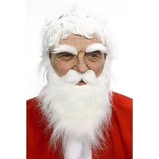 Angry Santa (beard, moustache and eyebrows)